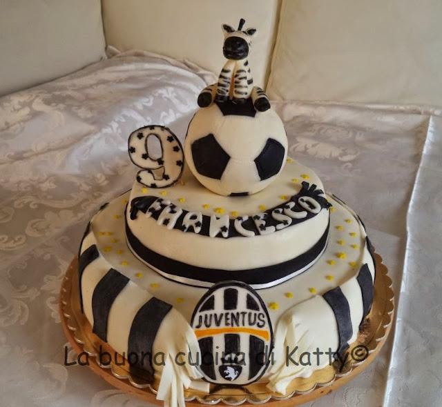 La buona cucina di Katty: Torta Juventus per Francesco