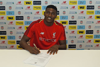 Nigerian youngster sign new contract with Liverpool