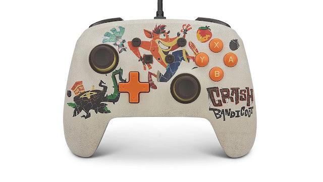 Pro Controller temático de Crash Bandicoot 4: It's About Time será lançado para o Nintendo Switch