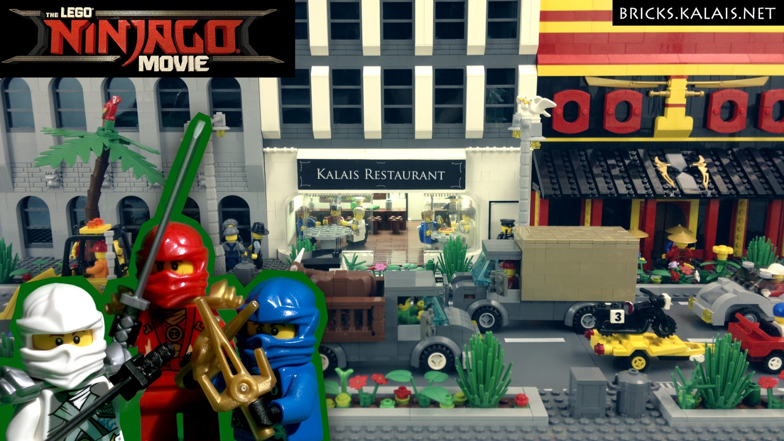 [BRICKFILM] The LEGO Ninjago Movie - Ninja For a Day
