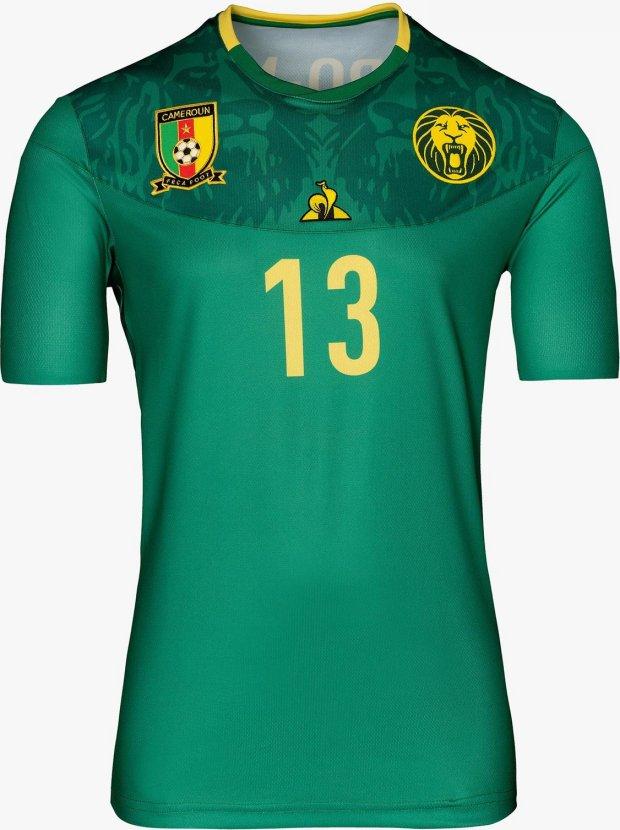 9370a5e1d4 Le Coq apresenta as novas camisas de Camarões - Show de Camisas