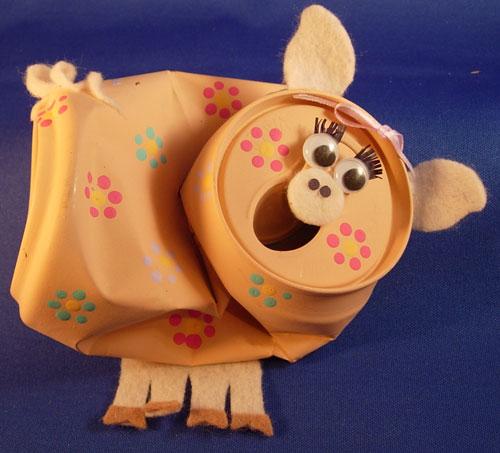 Ideias para fazer brinquedos reciclados para as crianças