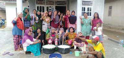 Dawam-Azwar Didukung Emak-Emak Lampung Timur