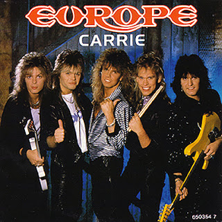 Europe - Carrie okładka singla