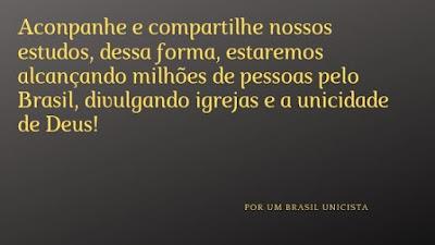 Plano de um Brasil unicista