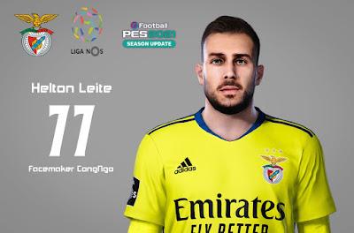PES 2021 Faces Helton Leite by CongNgo