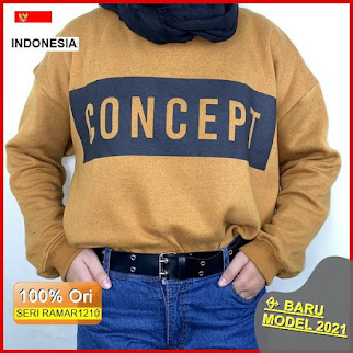 RAMAR1210 NEW SET CONCEPT SWEATER CREWNECK BARU 2021