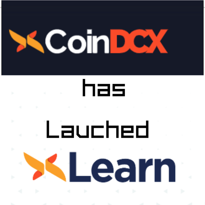 CoinDcx has Lauched learning Platform DcxLearn