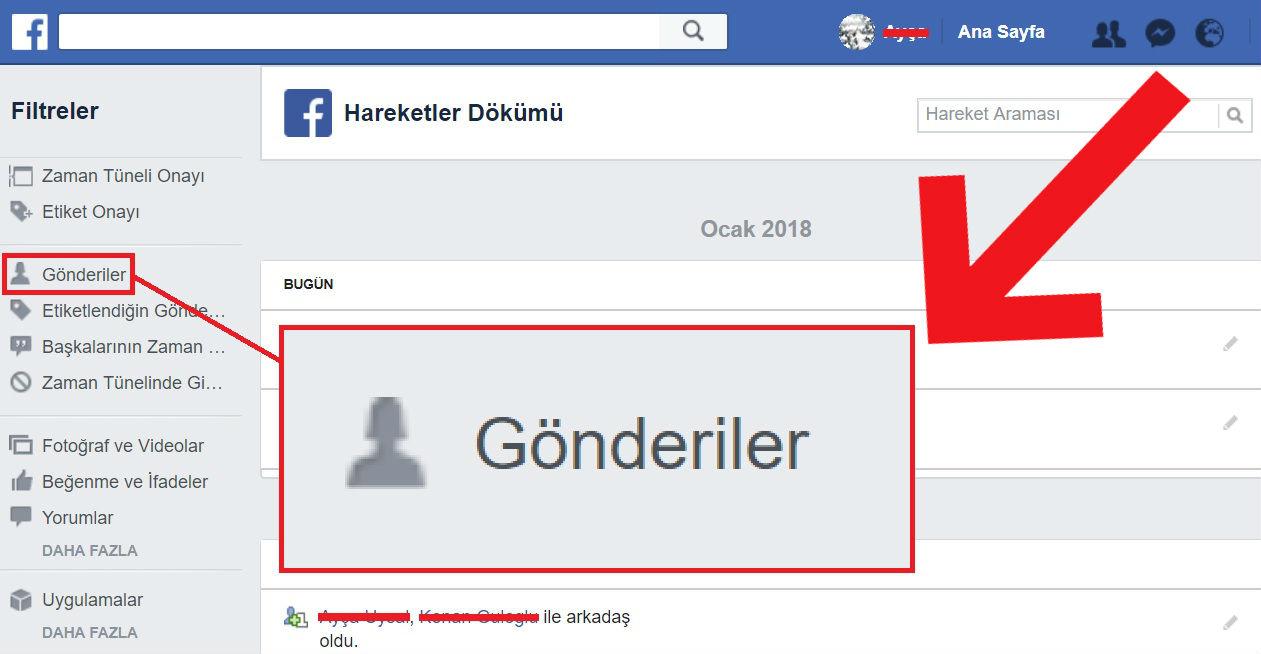 Facebook Toplu Zaman Tüneli Silme | Tüm Gönderileri Temizleme!