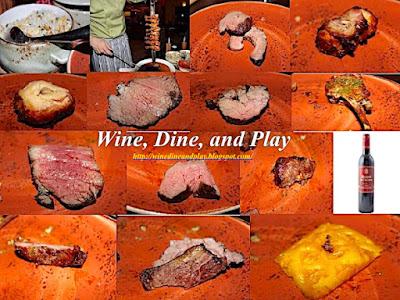 Meat cuts churrasco at Frevo restaurant the Fremont Hotel in Dubai, UAE