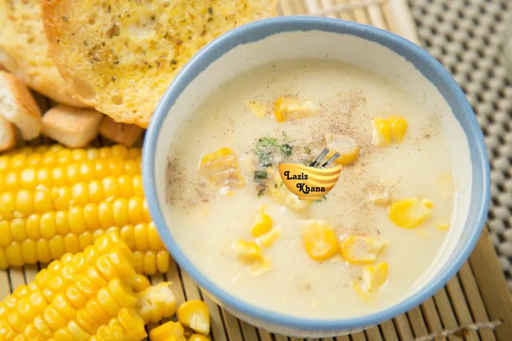 Corn Soup Recipe in Hindi