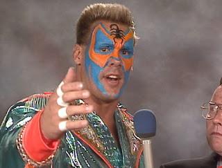 WCW / NWA Great American Bash 1989 - Sting gives a promo
