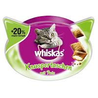 Whiskas Knuspertaschen +20% mehr Inhalt