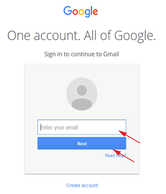Cara Login di Email Gmail