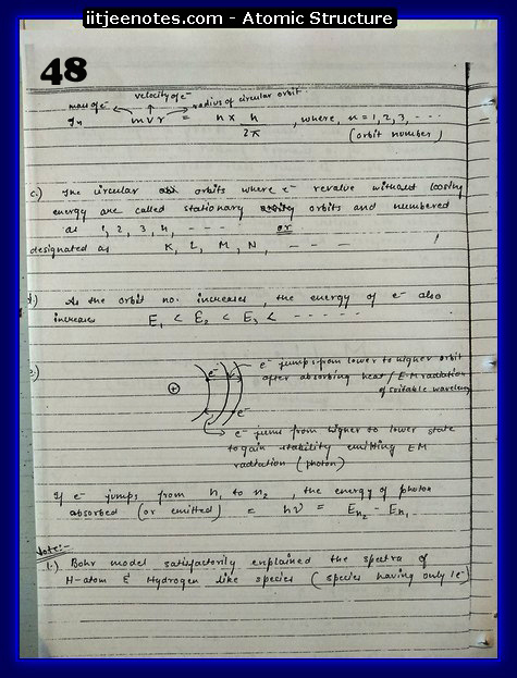 Atomic Structure Notes cbse5