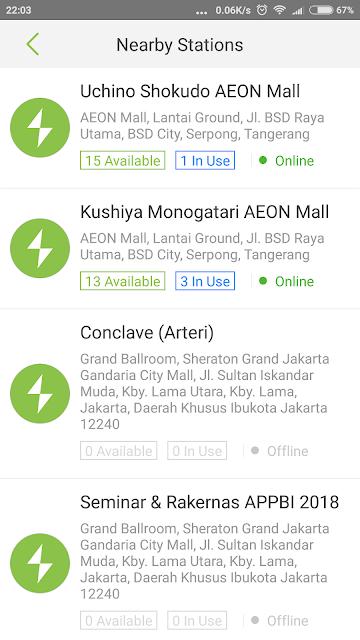 rental power bankr echarge indonesia