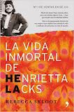 """portada de """"la vida inmortal de henrietta lacks"""" por rebecca skoot"""