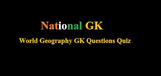 World Geography GK