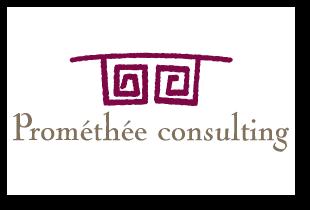 Prométhée Consulting : création de logotype, graphique design