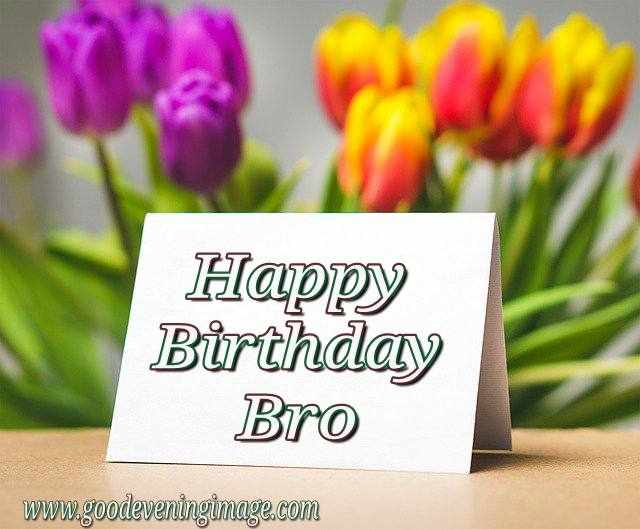 Happy Birthday wishes, Images, picture for brother