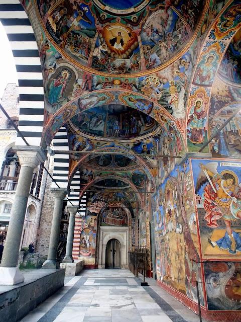 El Monasterio de Rila y sus pinturas