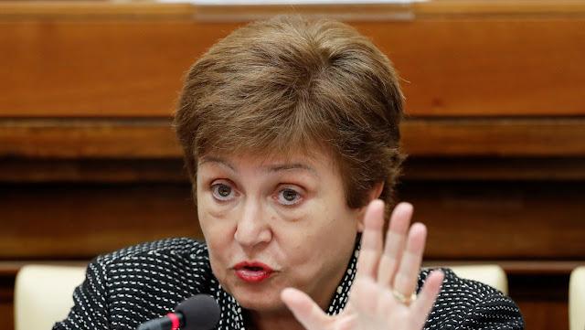 Directora del FMI: Más de la mitad de los países miembros han pedido rescate financiero a causa del coronavirus