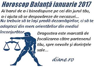 Horoscop ianuarie 2017 Balanţă