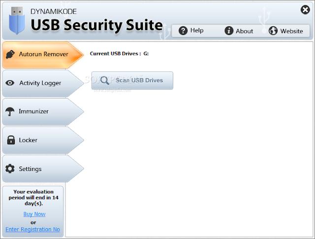 تحميل برنامج حماية USB من الفيروسات USB Security Suite