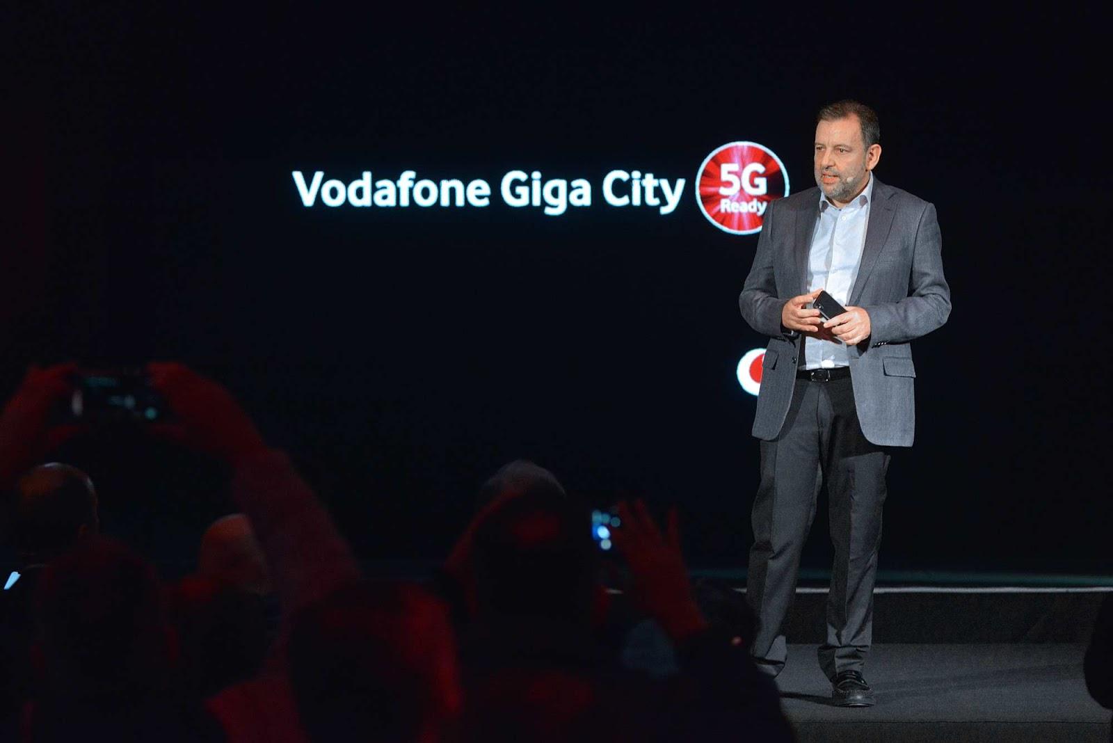 Vodafone Giga City 5G στα Τρίκαλα! (ΦΩΤΟ)