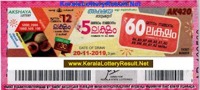 KeralaLotteryResult.net, kerala lottery, keralalotteryresult, kerala lottery result, kerala lottery result live, kerala lottery today, kerala lottery result today, kerala lottery results today, today kerala lottery result, kerala lottery kl result, yesterday lottery results, lotteries results, keralalotteries, Akshaya lottery results, kerala lottery result today Akshaya, Akshaya lottery result, kerala lottery result Akshaya today, kerala lottery Akshaya today result, Akshaya kerala lottery result, live Akshaya lottery AK-420, kerala lottery result 20.11.2019 Akshaya AK 420 20 November 2019 result, 20 11 2019, kerala lottery result 20-11-2019, Akshaya lottery AK 420 results 20-11-2019, 20/11/2019 kerala lottery today result Akshaya, 20/11/2019 Akshaya lottery AK-420, Akshaya 20.11.2019, 20.11.2019 lottery results, kerala lottery result November 20 2019, kerala lottery results 20th November 2019, 20.11.2019 week AK-420 lottery result, 20.11.2019 Akshaya AK-420 Lottery Result, 20-11-2019 kerala lottery results, 20-11-2019 kerala state lottery result, 20-11-2019 AK-420, Kerala Akshaya Lottery Result 20/11/2019,