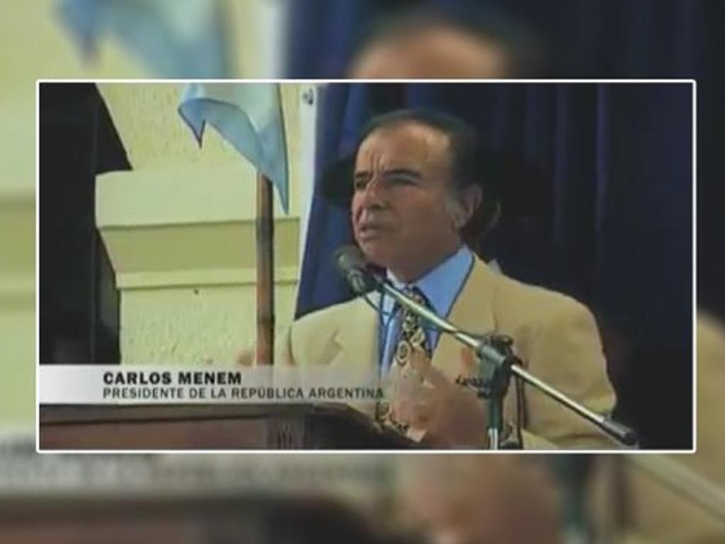 """Desde el """"salariazo"""" hasta """"síganme"""", la veinte frases célebres del expresidente Menem"""
