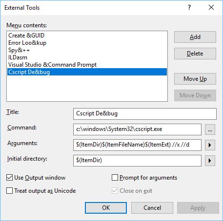 The Excel Development Platform: Javascript - Use Visual Studio to