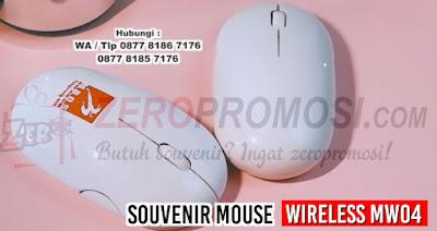 jual WIRELESS MOUSE - MW04, Barang Promosi Wireless Mouse MW04, Souvenir Wireless Mouse MW04, Mouse wireless bluetooth, jual aneka mouse wireless