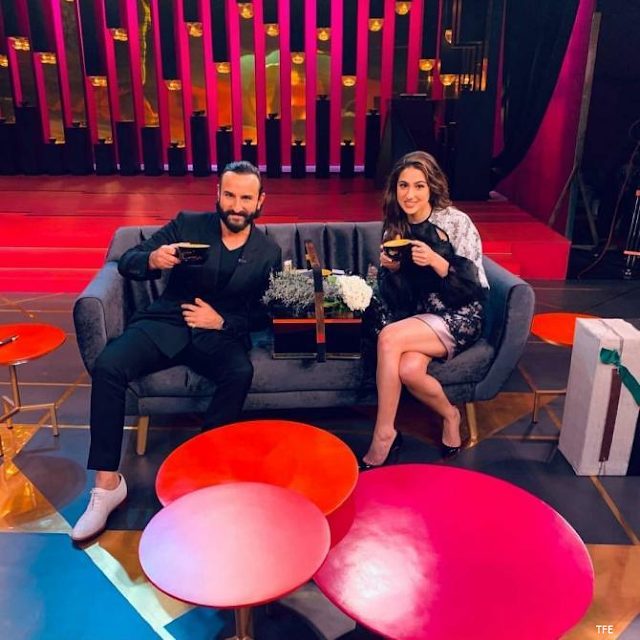 Koffee With Karan: The first picture of Deepika and Aliya from the show is given here.