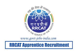 RRCAT Apprentice Recruitment 2020