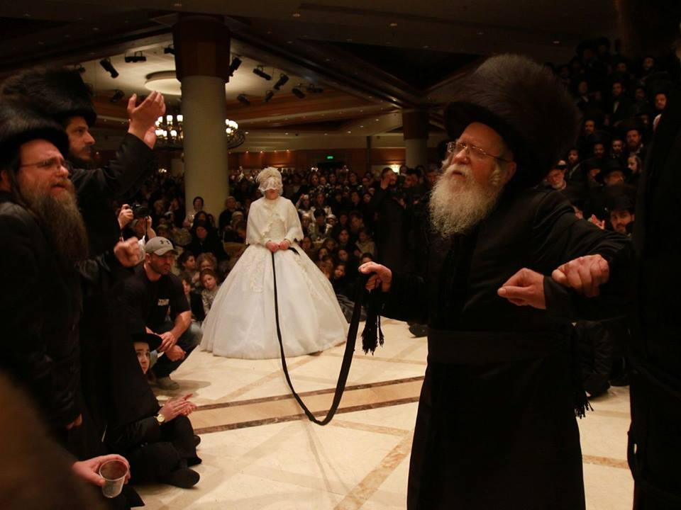 From The Recent Wedding In B Nei Brak Of Sov Hasidic Dynasty Head S Youngest Son Marrying Kretshnif Granddaughter