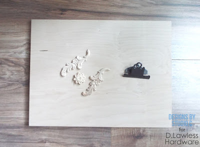 decorative clipboard - how to