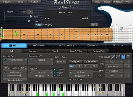 Download MusicLab RealStrat v3.1.0 Incl + Crack and Keygen