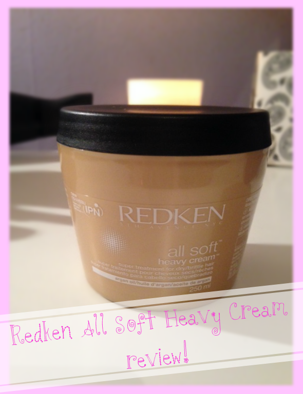 heaven in a tub redken all soft heavy cream review. Black Bedroom Furniture Sets. Home Design Ideas