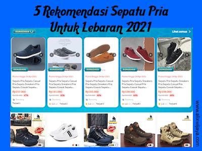 5 Rekomendasi Sepatu Pria Untuk Lebaran