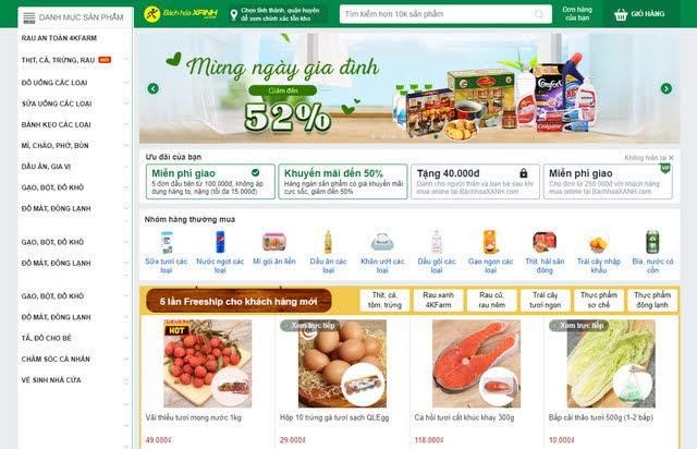 nhu cầu website bán hàng tăng cao