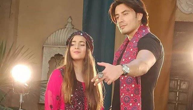 Ali Zafar's Sindhi folk song popular