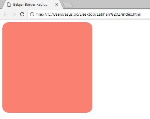 apa itu Border Radius ? yuk belajar css belajar border radius