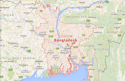 Bangladesh map piture