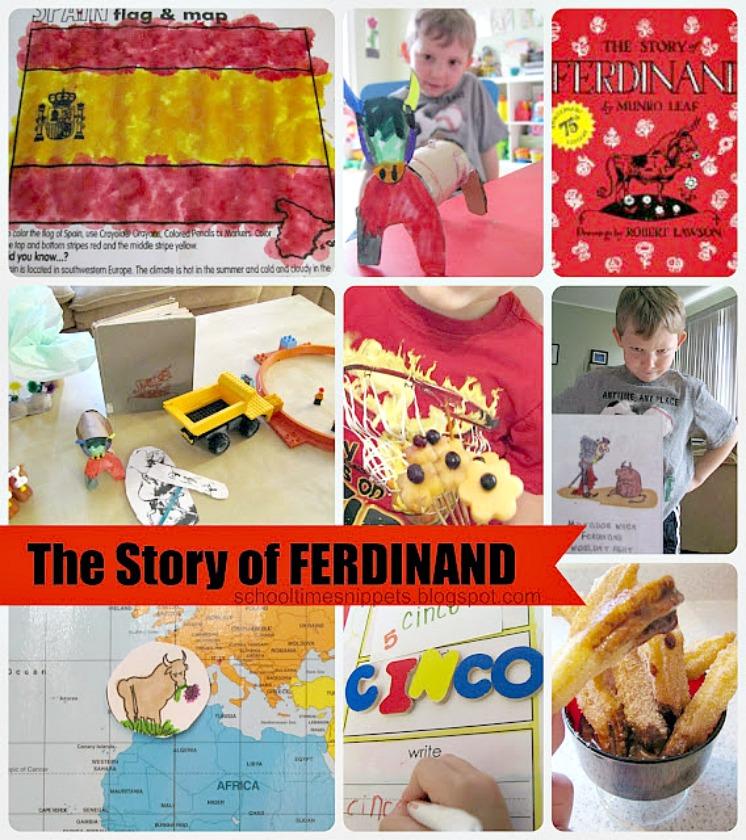 Five in a Row Ferdinand Activities