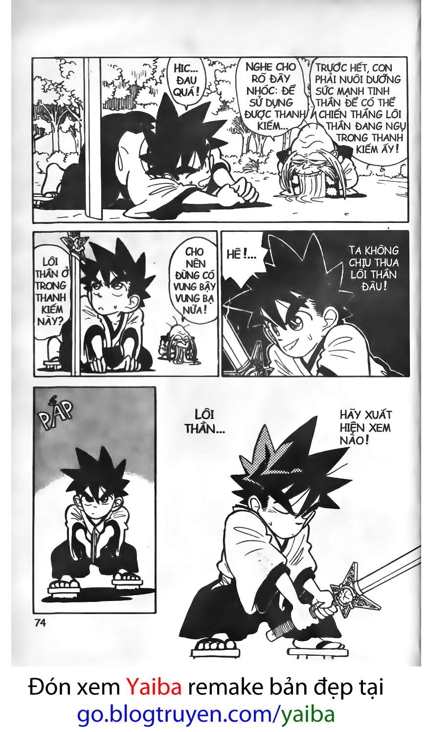 Yaiba chap 13 trang 17