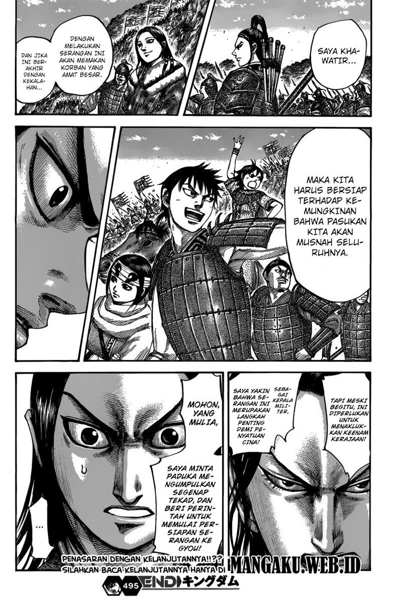 Baca Komik Manga Kingdom Chapter 495 Komik Station