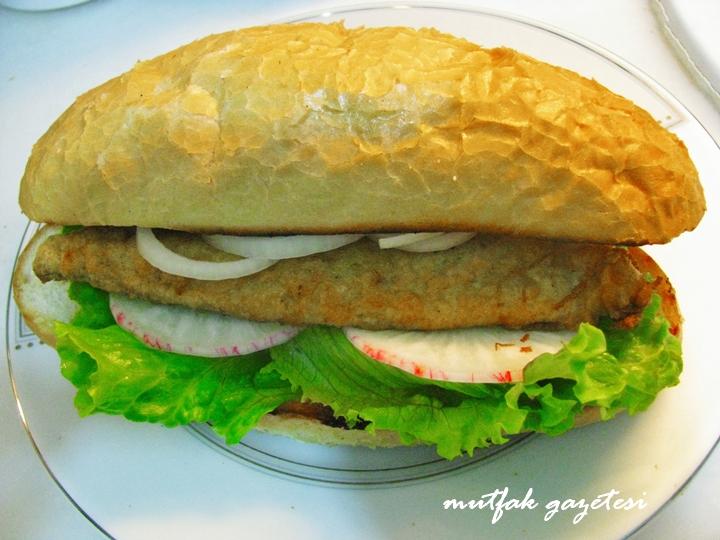 balıklı sandviç