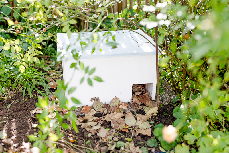 Dringend Wohnung gesucht!.... oder Winterquartier für den Igel selbstgebaut, Pomponetti, Igeln über den Winter helfen