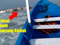 Liburan Akhir Tahun 2019 ke Pantai Pangandaran Naik Perahu 5 Menit Menerjang Ombak